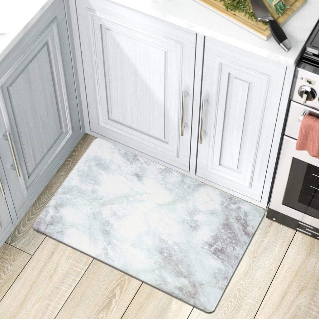 Direct sale of manufacturer Rugshop Kitchen Marble Pattern Anti Fatigue 18
