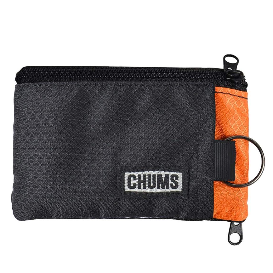 と遊ぶ雪だるま[チャムス] CHUMS 財布 ウォレット ショート 小銭入れ コインケース パスケース メンズ レディース ブランド キーチェーン 小物入れ 収納 定期入れ ICカード 18401