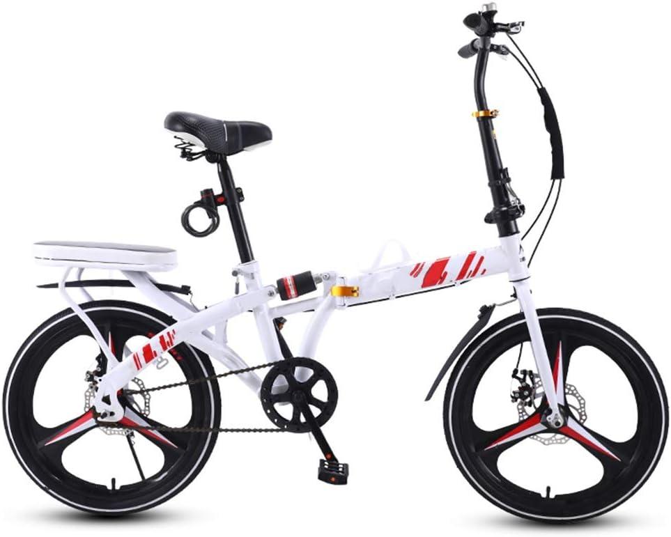 WWFAN 16 20-inch Folding Bike 35% OFF Commuter Bi Bicycle Adult Regular store Foldable