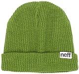 Neff Fold Beanie, Weiß Einheitsgröße grün - Oliv