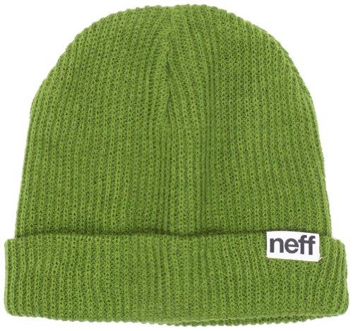 Neff Fold Beanie weiß one Size Oliv