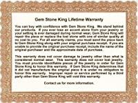 Gem Stone King 0.76カラット 天然 アパタイト 指輪 リング レディース ピンクサファイア シルバー925