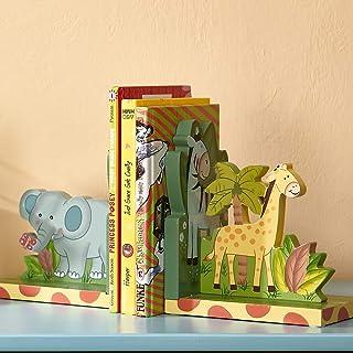 Fantasy Fields Sunny Safari Childrens Kids träbokstöd babyrum W-9837A