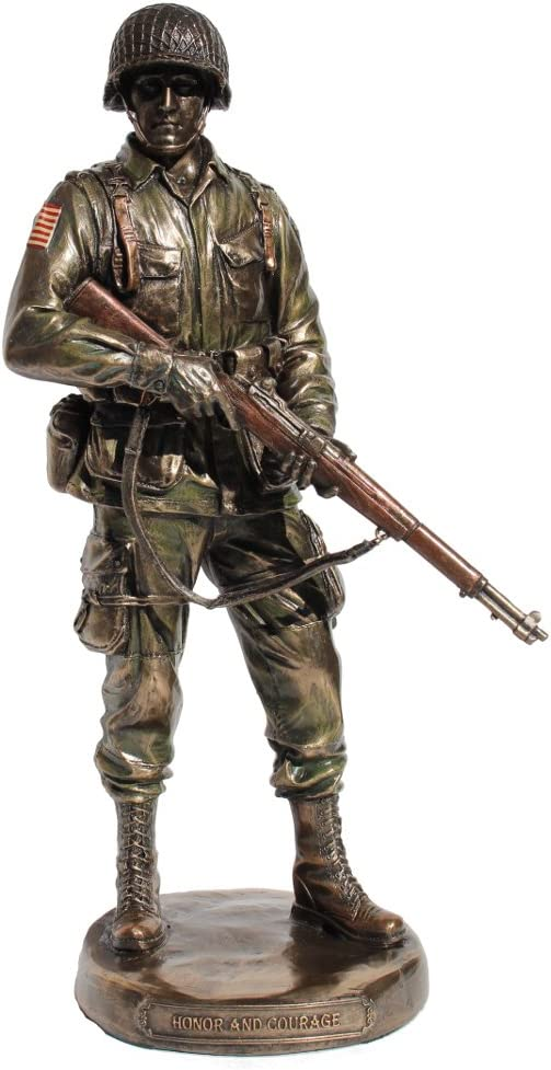 US Army Soldier Honor Statue Regular Inexpensive dealer and Courage
