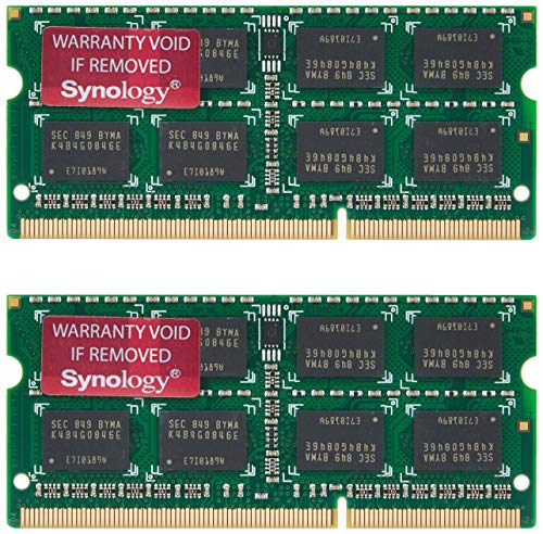 Synology RAM1600DDR3L-8GBX2 2X 8GB DDR3L Speicher Modul Kit Fuer DS1517+ DS1817+ Rs818+(Rp)