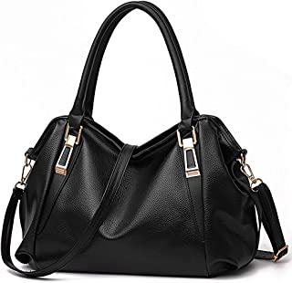 Tote Handbag for Women Vegan Leather Shoulder Bag Hobo bag Satchel Purse for Girls School Work &