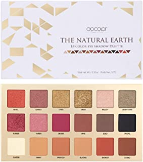 Docolor Eyeshadow Palette 18 Colors Eye Shadow Matte Glitter Waterproof Pigmented Makeup Palette