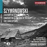 Szymanowski: Symphonies Nos 1