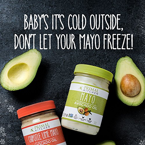Primal Kitchen - Avocado Oil Mayo, Gluten and Dairy Free, Whole30 and Paleo Approved (12 oz, 2 Jars)