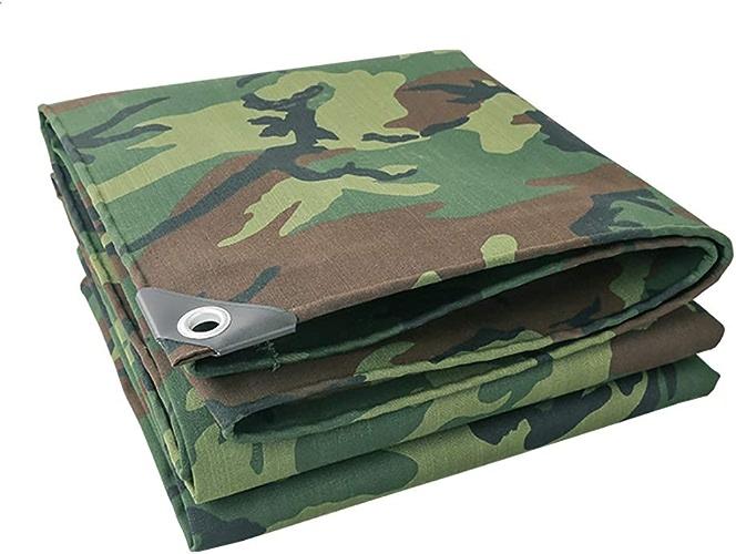 Bache Couverture végétale de Camouflage Robuste, Store de Tente d'épissure de Tente de 0,7 mm d'épaisseur (Taille   4m×8m)