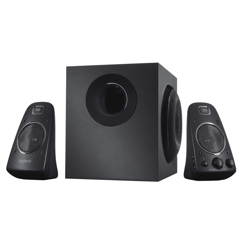 Logitech Z623 400 Watt Home Speaker System, 2.1 Speaker System - Black