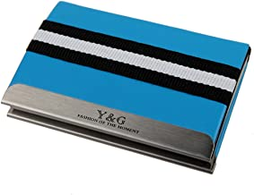 Y&G Men's Fashion Both sides Business Card Holder Card Case Available in Different Colors