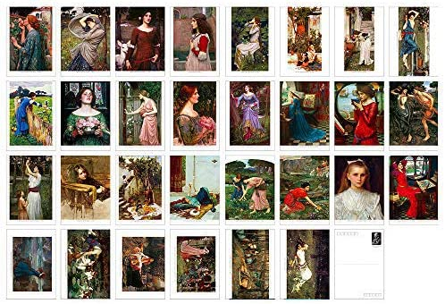 William Waterhouse Vintage Postcards Max 65% OFF for with Art Recommended or Ma Printing