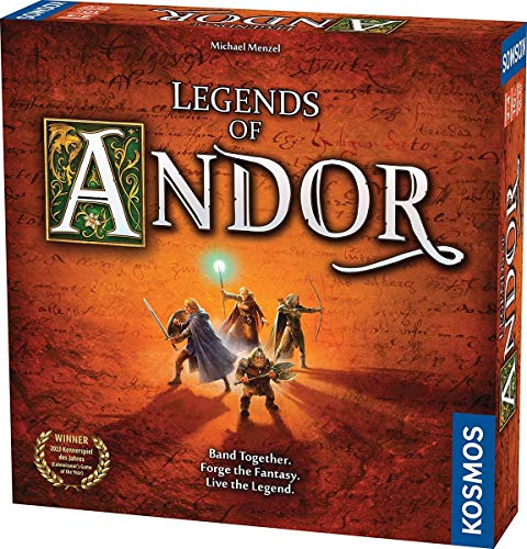 Thames & Kosmos 691745 2-4 Players | Ages 10 Legends of Andor: The Base Cooperative Strategy Game, Standard