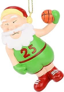Tree Buddees Air Santa Basketball Christmas Ornament