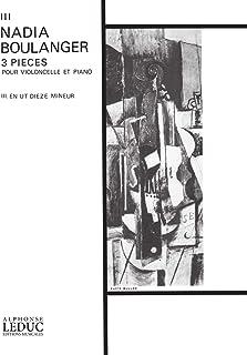 Nadia Boulanger: 3 Pieces - No. 3 in C Sharp Minor (Cello & Piano) Livre Sur la Musique