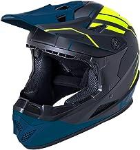 Kali Zoka Eon Matte Black Fluo Yellow Teal Full Face Bicycle BXM MTB Downhill Mountain Bike Helmet