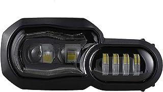 WOVELOT para F650GS / F700GS / F800GS F800 GSA Faros de Motocicleta LED Proyector Faros Angel Eye DRL Assembly
