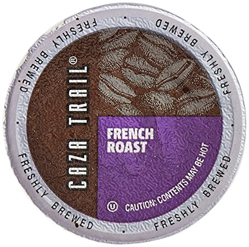 Caza Trail Coffee, French Roast, 100 Single Serve Cups
