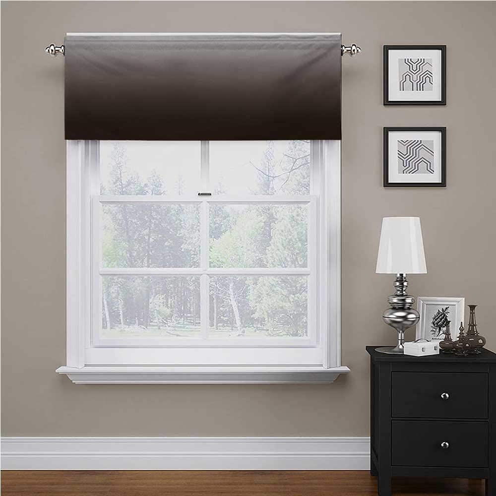 Max Latest item 56% OFF Ombre Kitchen Tier Curtains Chocolate Cream Inspired and Digital