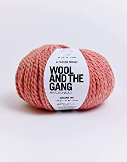 Wool & The Gang - Alpachino Merino Rocksalt Red