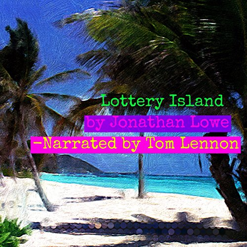 Lottery Island audiobook cover art