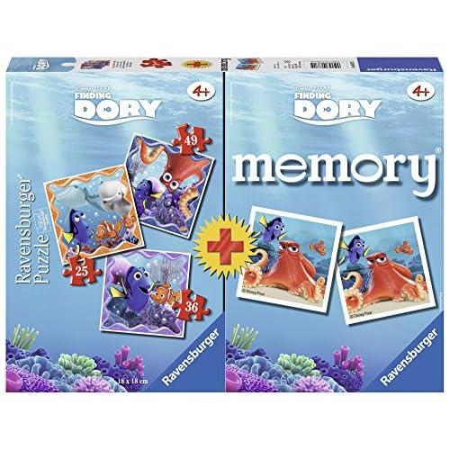 Ravensburger Italy Ricerca di Dory Puzzle e Memory, 06871 5