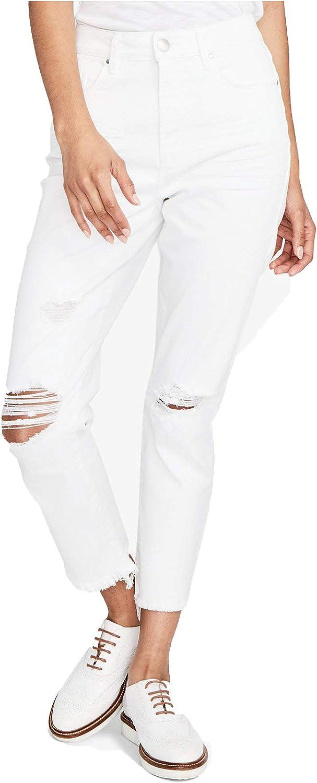 Rachel Rachel Roy Women's Destructed Cropped Jeans