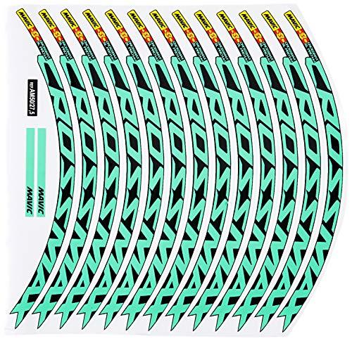 Ecoshirt RV-7WRB-B8XI Stickers Jante Rim Mavic Crossmax SL Pro 26\