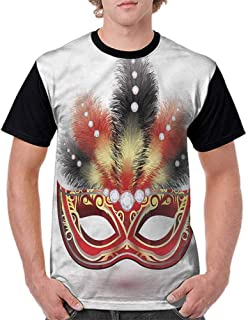 BlountDecor Performance T-Shirt,Psychedelic Branches Fashion Personality Customization