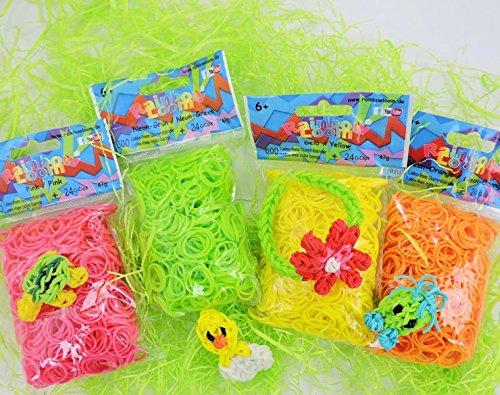 Mezcla primaveral original de Rainbow Loom