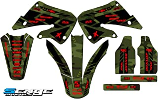 Team Racing Graphics kit compatible with Honda 2000-2001 CR125//250R SCATTER