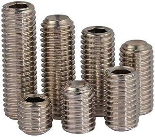 Alloy Steel Black Oxide 2-56 UNC Thread Plain Cup Point Socket Set Screw Pack of 100 3//32 Long Unbrako 45H