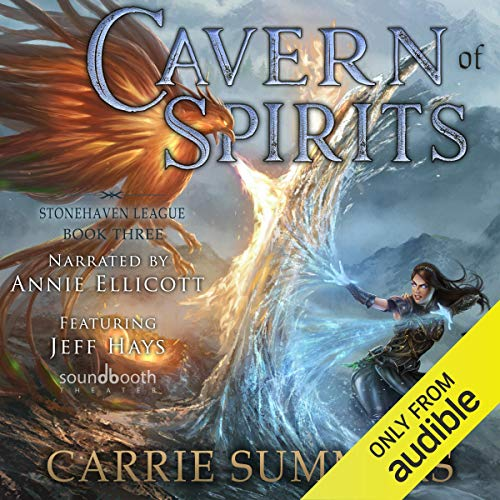 Cavern of Spirits: A LitRPG and GameLit Adventure audiobook cover art
