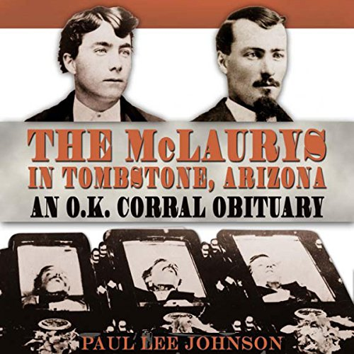 The McLaurys in Tombstone, Arizona audiobook cover art