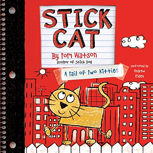 Stick Cat audiobook cover art