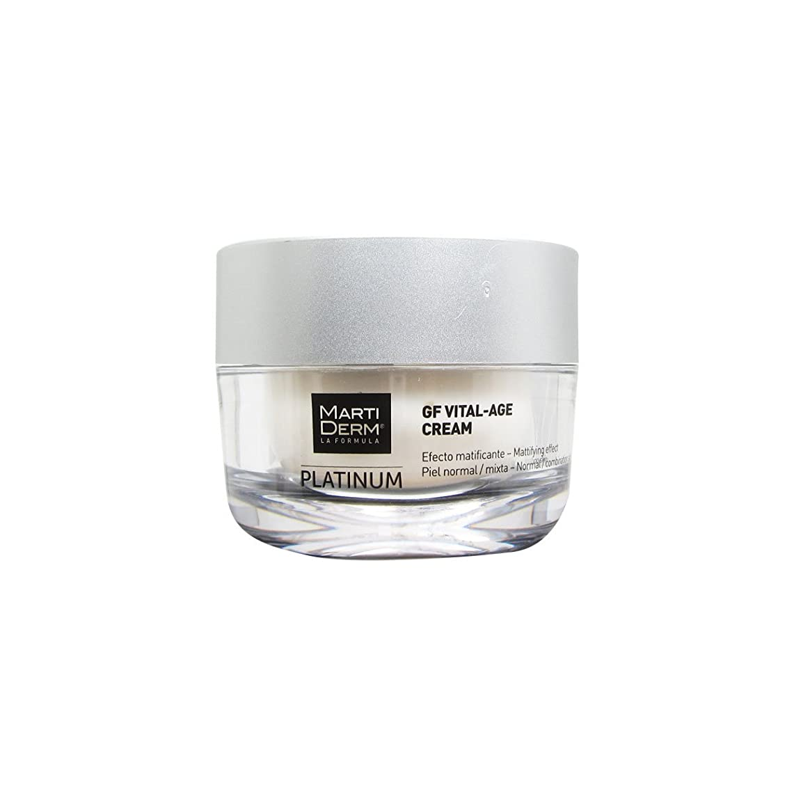 誰か本当のことを言うとメロンMartiderm Platinum Gf Vital-age Normal To Combination Skin Cream 50ml [並行輸入品]