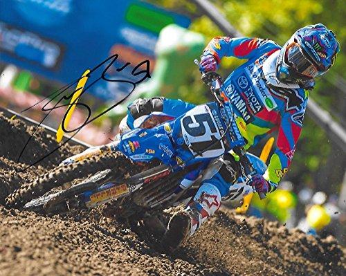 Justin Barcia, Supercross, Motocross, Signed 8X10 Photo