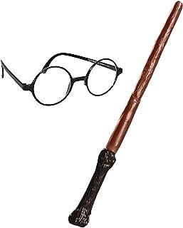 Rubie's 3 5374 Harry Potter accessoirepakket toverstaf en bril, verpakking kan variëren