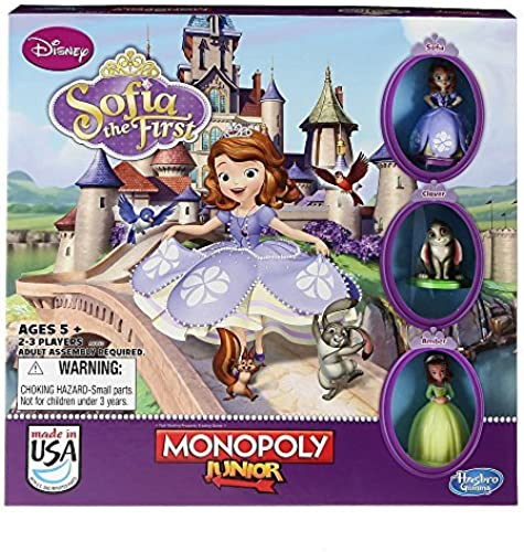 Monopoly Junior Game, Disney Sofia the First Edition by Hasbro