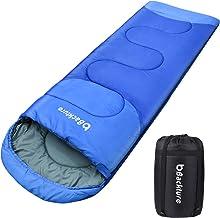 BACKTURE Saco de Dormir para Acampar, Impermeable con Bolsa
