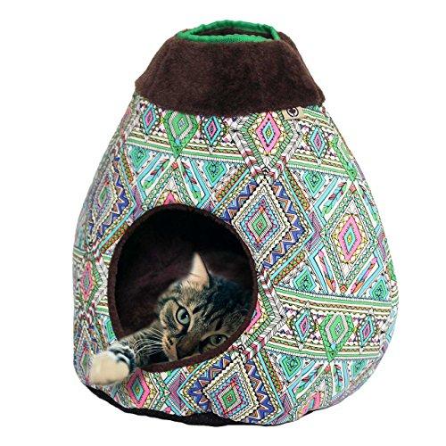 CanadianCat Company ® | Cats tent COSMO - Design slaap- en speelhoek voor katten | ca. 40 x 35 x 40 cm