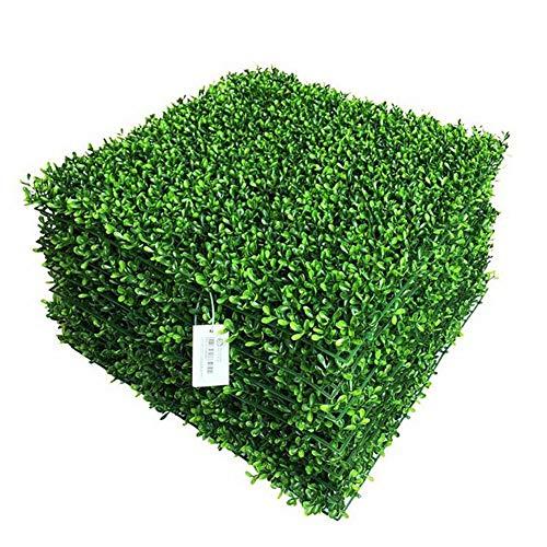 TTIK 1 Stück Künstliche Efeublätter, grün, Pflanze, Dekoration, Außen, grün, Sichtschutz, Mauer, Barriere, Gartenheck, 50 x 50 cm