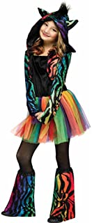 rainbow zebra costume