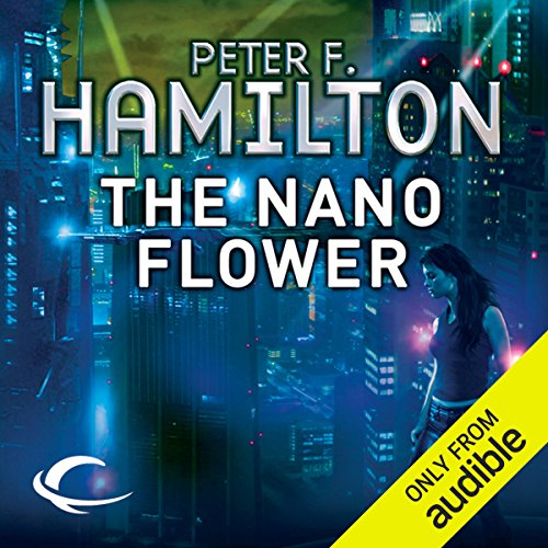 The Nano Flower audiobook cover art