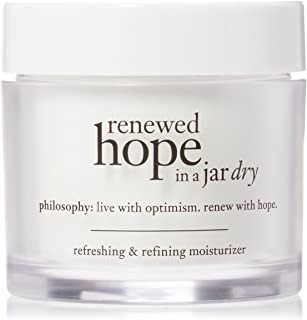 Philosophy Renewed Hope In a Jar Dry for Unisex 2 oz Moisturizer