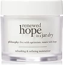 Philosophy Renewed hope in a Jar Dry refreshing & Refining 保湿霜适用于干燥皮肤