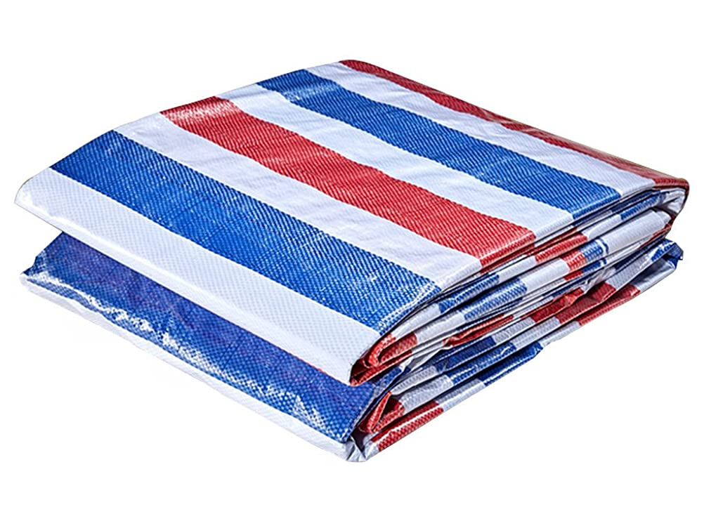 くスライス対人オーニングターポリン 日焼け止遮光ネット 防水サンスクリーンターポリン、厚い屋外カバー布、貨物屋外庭、マルチサイズオプション 利用できる多数のサイズ (Size : 4*15M)