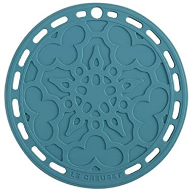 Le Creuset Silicone French Trivet, 8  , Caribbean