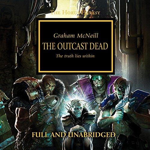 The Outcast Dead audiobook cover art